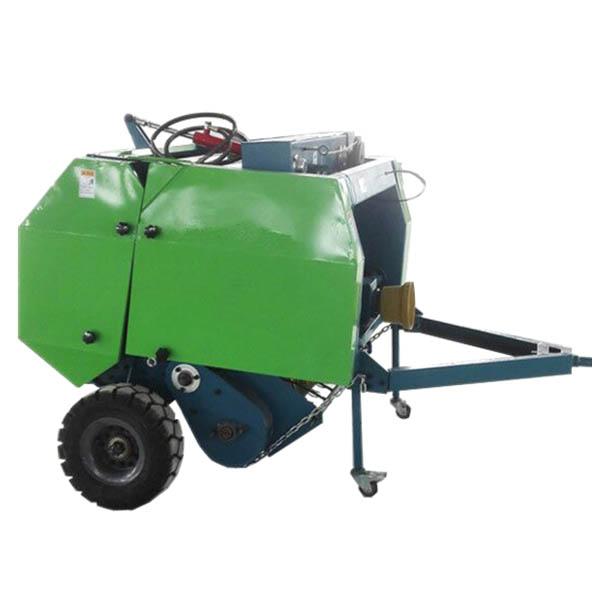 拖拉机带自动捡拾打捆机
