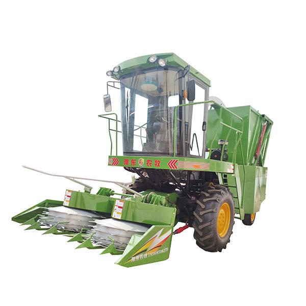 自走式玉米秸秆青贮机