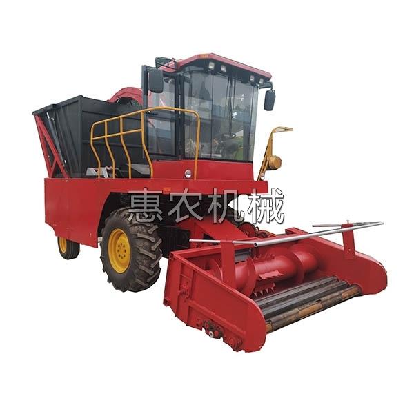 玉米杆青储收割机